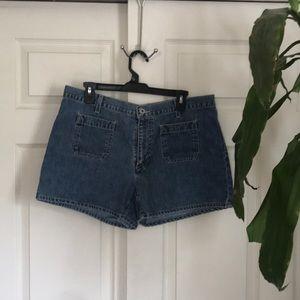 🆕Women's plus denim shorts